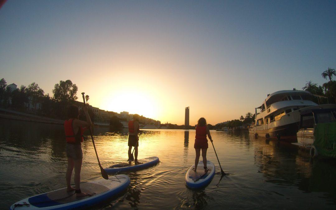 Paddle Surf in the Guadalquivir